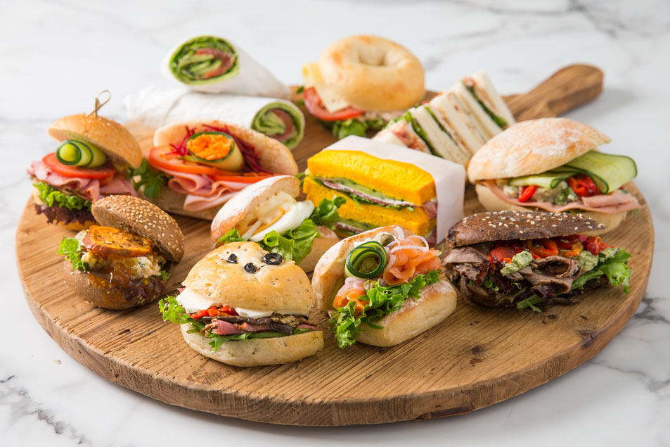 Gourmet Mixed Bread/Wrap & Sandwich Platter w/ executive fillings